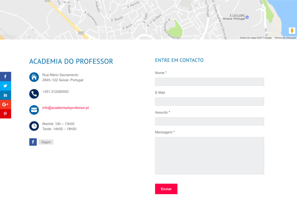 Academia do Professor
